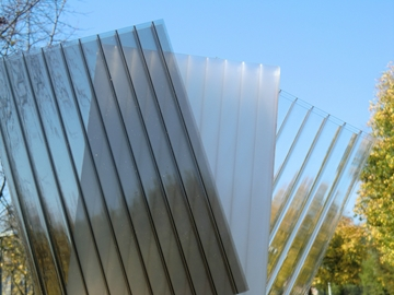 10mm Twinwall Polycarbonate Roofing