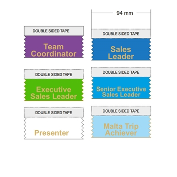 Sales Conference Ribbons