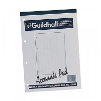 A4 Ruled Account Paper