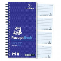 Wirebound Duplicate Receipt Books