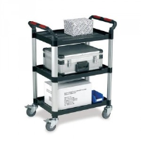 Three Shelf Utility Tray Trolleys