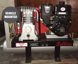 Vehicle Mounted 30B/30T Air Compressor