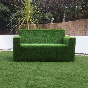 Child Sofa - Artificial Grass Covered