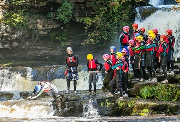 Canyoning in Wales