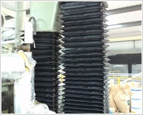 Pleated covers (normally used on measuring, inspection and metrology equipment)