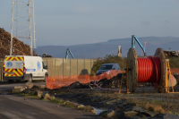 High Voltage Cable Installation