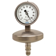 Absolute pressure gauge, stainless steel