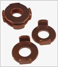 Copper grip washers
