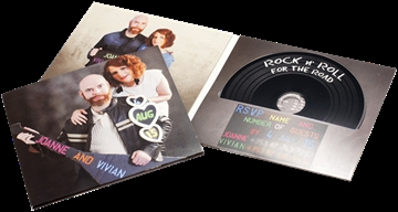 DVDs or vinyl record style CDs/DVDs