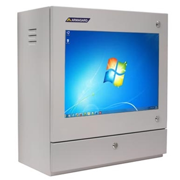 Computer Enclosure For Industrial Use