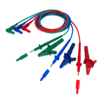 3 Wire Test Lead Set for Multifunction Testers - TMTL3