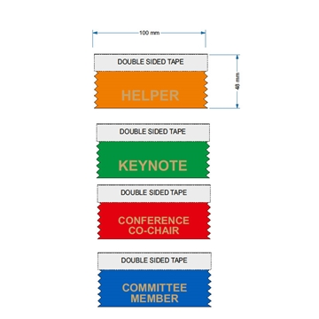 Helper Ribbons for Conferences and Events