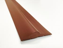 15mm Brown Rubber Garage Threshold Seal