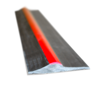 Black/Red Stripe Rubber Threshold Seal