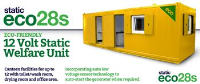 Static welfare units with High Security doors