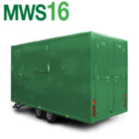 Mobile Work Shop with Canteen