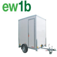 Mobile Single Gas Shower and Toilet Facilities