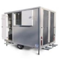 Mobile anti vandal welfare units in The Midlands