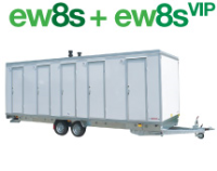 ew8s VIP Mobile Showers in Suffolk