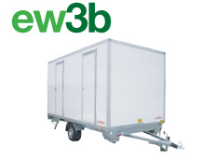 ew3b Mobile Showers & Toilets Combined in Cambridgeshire