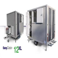 Bespoke Mobile Canteen Facilities For 6 With Separate Toilet