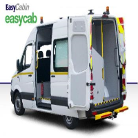 Mobile Welfare Van With 7 / 8 Seats With Canteen and Toilet Facilities