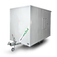 Bespoke 16ft Mobile canteen, office with separate toilet and drying room