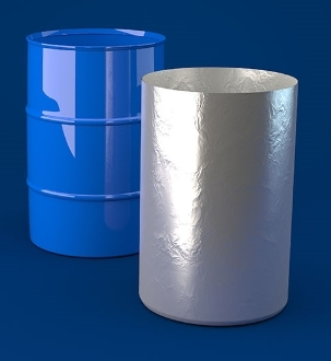 Barrier Foil Round Bottom Liners