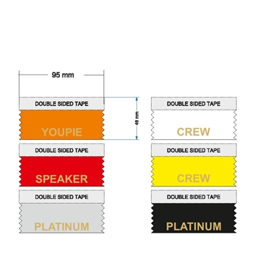 Platinum Club Ribbons for Conferences