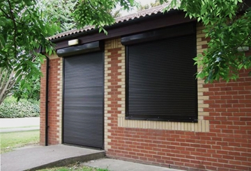 Steel Security Commercial Roller Shutters