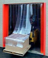 Automatic Slide Aside Strip Curtains In Macclesfield