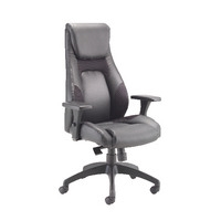 Leather Look and Mesh Managers Task Chair