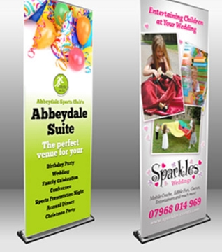 Digitally Printed Commercial Pop-Up Displays Sheffield