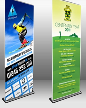 Digitally Printed PVC Pop-Up Banner Suppliers Chesterfield