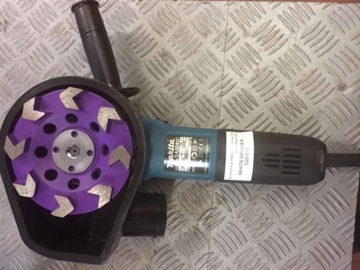 HIRE HAND GRINDER 125MM HEAVY DUTY 110V