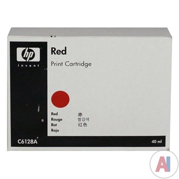 HP C6128A Red Franking Ink Cartridge