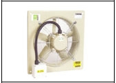Compact SCP Slim Profile Plate Mounted Axial Fan