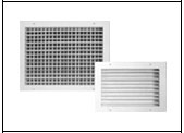 Gilberts Series G Adjustable Deflection Grilles