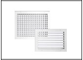Gilberts Series H Heavy Duty Adjustable Deflection Grilles