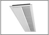 Gilberts MBD Series Multi-Blade Linear Diffuser
