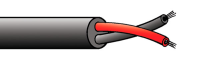 100V line Speaker Installation Cable (2x0.75mm) Standard  - cut by the metre