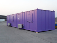 Anti-Vandal Cabins 40ft x 10ft Air Conditioned Office