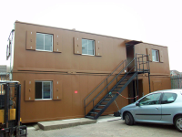 Anti-Vandal Cabins 40ft x 12ft Flat Sided Steel Cabins