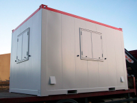 Anti-Vandal Cabins 12ft x 8ft Flat Sided Steel Cabin