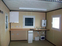 Anti-Vandal Cabins With Upgraded sink facilities