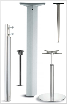Exclusive UK Distributor CIEFFE Height Adjustable Table Legs
