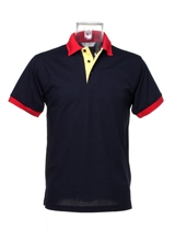 Personalised Promotional Contrast Collar & Placket Polo