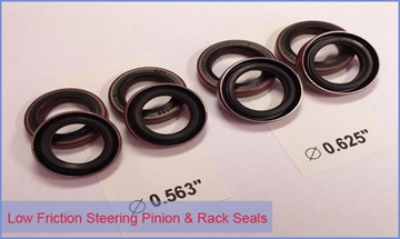 Low Friction Rack Seals