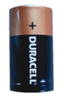 C Batteries (Pack2) DURACELL