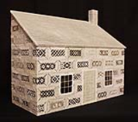 3 Dimensional Cottage For Lace Artwork